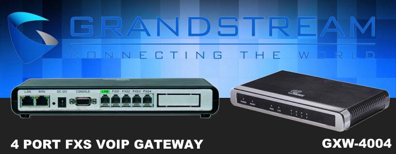 Grandstream GXW4004 VoIP Gateway Dubai