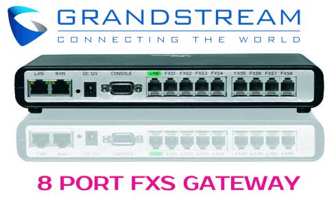Grandstream GXW-4008 UAE