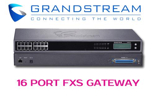 Grandstream GXW-4216 FXS GATEWAY Dubai
