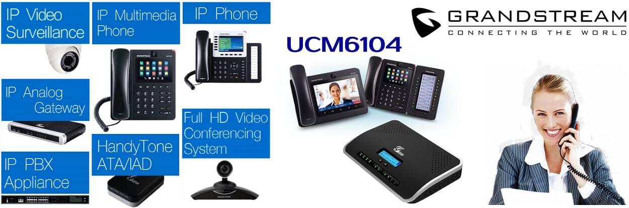 Grandstream UCM6104 Dubai IP PBX